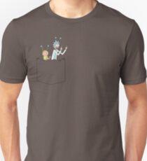 Pocket Pals - Rick and Morty Sanchez - Peace Among Worlds T-Shirt
