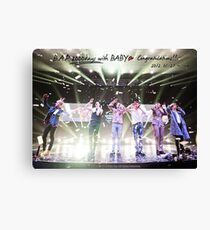 2000 Days With B.A.P Canvas Print