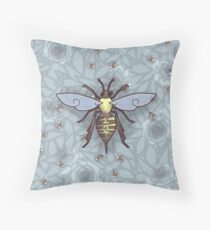 221 Bee Comfortable  Throw Pillow