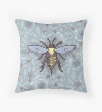 221 Bee Comfortable  Throw Pillow