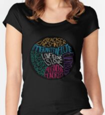 What We Believe Embroidery-based Art Women's Fitted Scoop T-Shirt