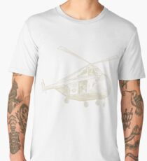Helicopter Men's Premium T-Shirt