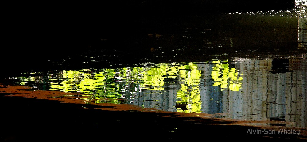 Water Under The Bridge by Alvin-San Whaley