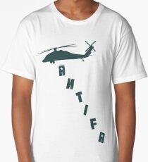 Antifa Kek Shadialy Shitpost  Long T-Shirt