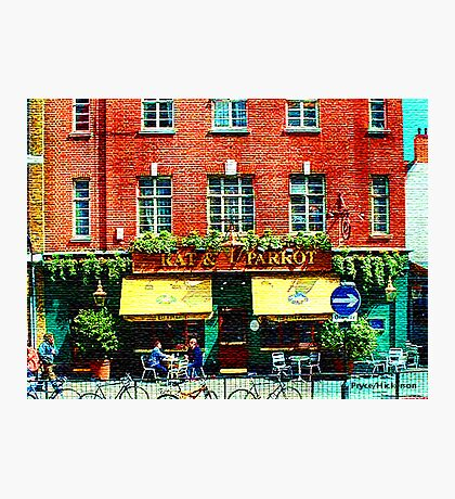 London Eatery Photographic Print