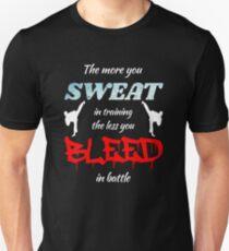 Martial Artist Inspired Design Great Gift Idea for MMA Fans T-Shirt