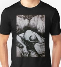 Abstract in Charcoal T-Shirt