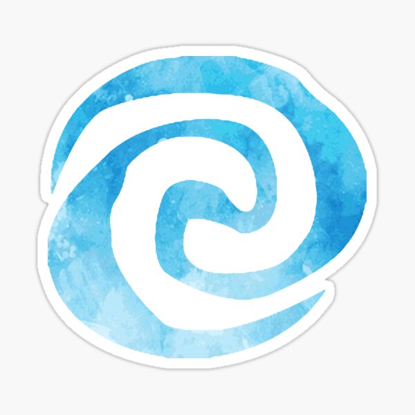 Blue Te Fiti Sticker