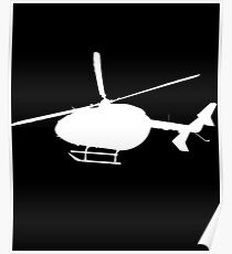 Helicopter Chopper Poster