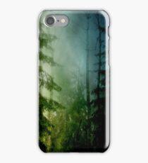 Blue pines iPhone Case/Skin