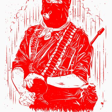 red zapatista by PleaseBelieve