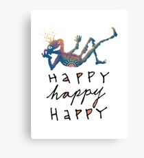 Happy Lil Dude Canvas Print