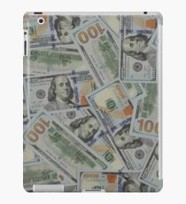 $100 Bills - Front & Back - New Style iPad Case/Skin