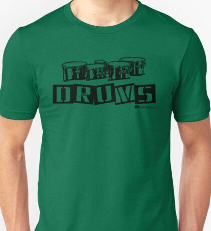 Label Me A Tenor Drum (Black Lettering) T-Shirt