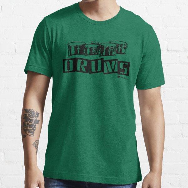Label Me A Tenor Drum (Black Lettering) Essential T-Shirt