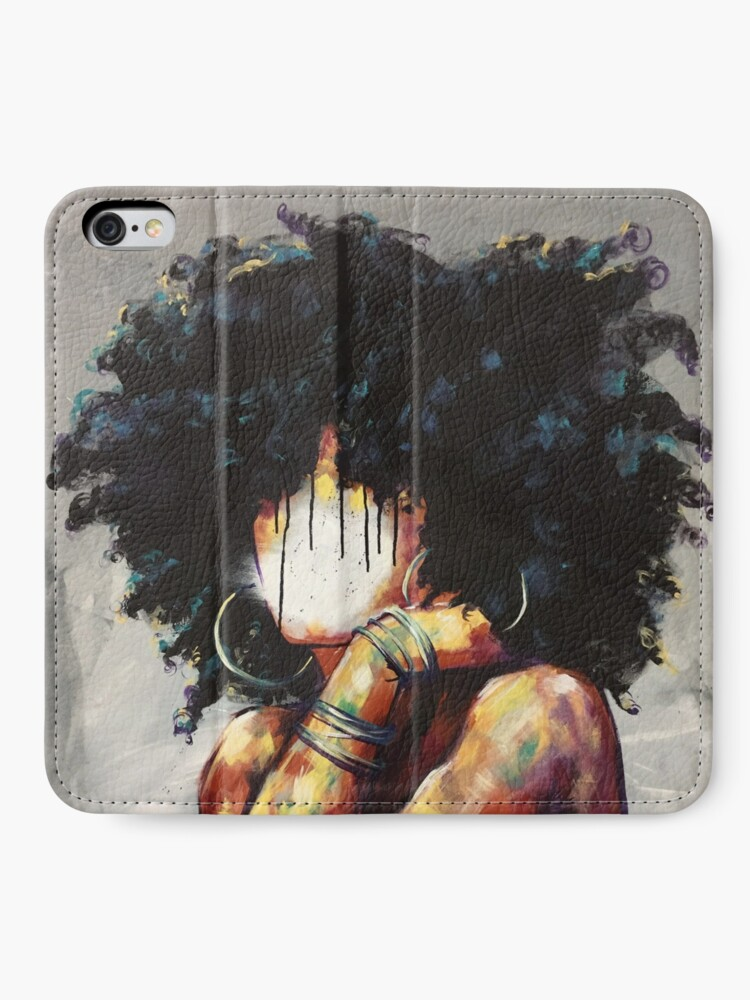 Alternate view of Naturally II iPhone Wallet