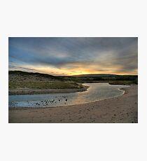 Inverness Beach Sunrise Nova Scotia Photographic Print