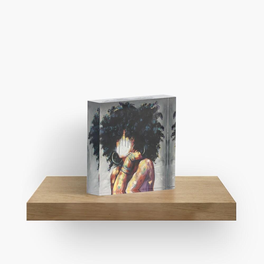 Naturally II Acrylic Block