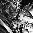 Zelgan, Ganondorf and Zelda by Figment Forms