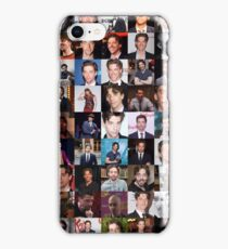 Christian Borle Collage - Many Items Available iPhone Case/Skin
