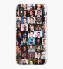 Christian Borle Collage - Many Items Available iPhone Case
