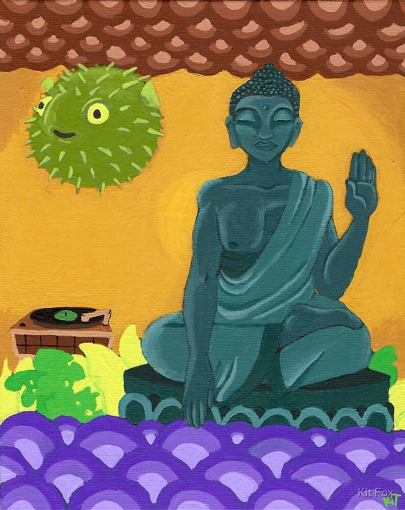 The Buddha and the Blowfish by Kit Fox