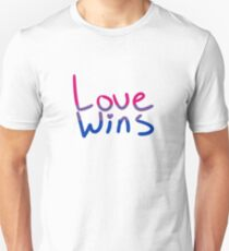 BI Pride  Love Wins T-Shirt
