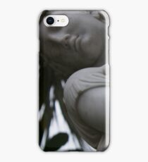 silent statue iPhone Case/Skin