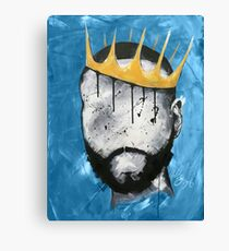 Naturally King BLUE Canvas Print