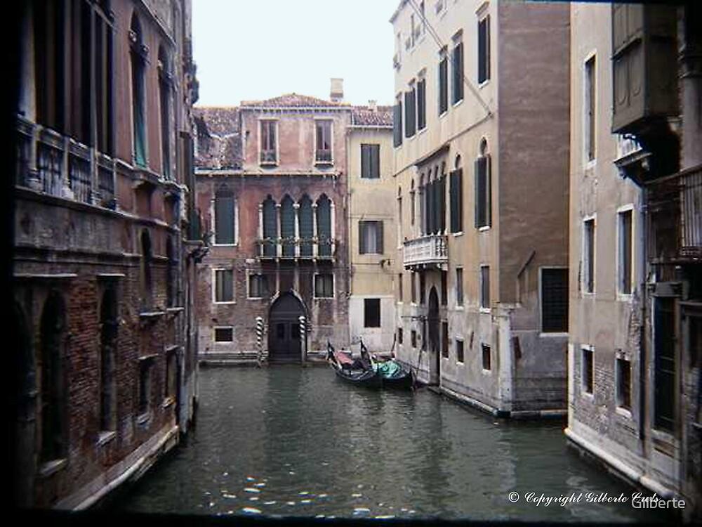 Venice - Little Canal by Gilberte