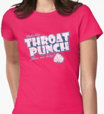 Throat Punch Women's Fitted T-Shirt