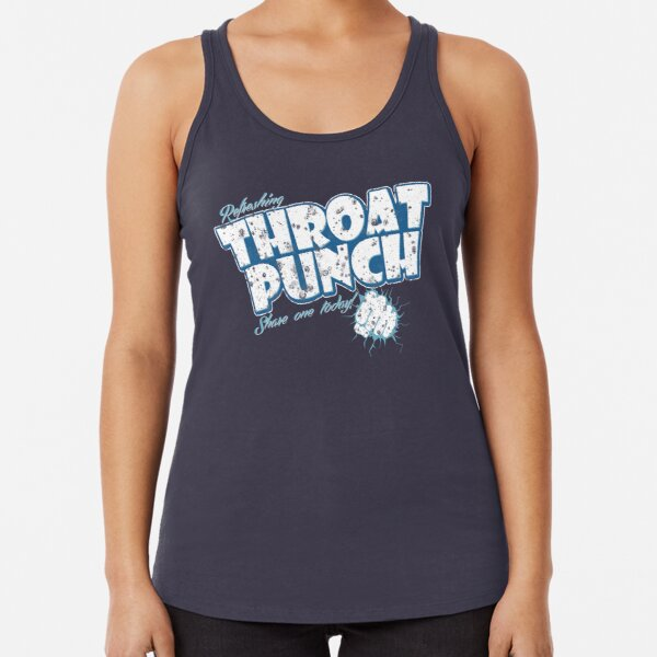 Throat Punch Racerback Tank Top