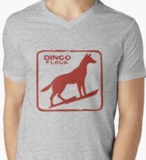 Dingo Flour Wall Men's V-Neck T-Shirt