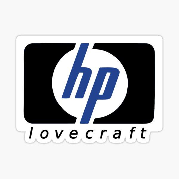 HP lovecraft Logo  Sticker
