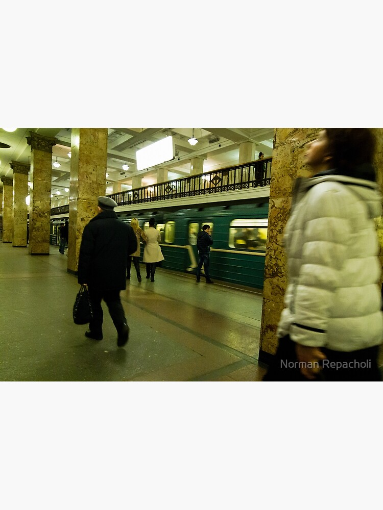 Moscow Subway by keystone
