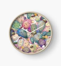 Prickly Pear Clock