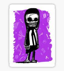 Chico Muerteando Sticker