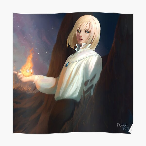 Howl from Howl's moving castle Poster
