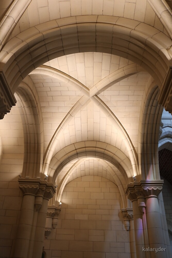 Warm Arches of the Abbey by kalaryder