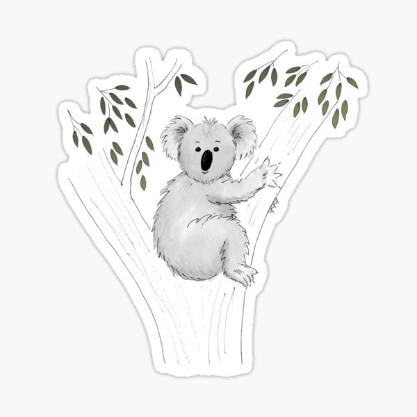Koala Heaven Sticker