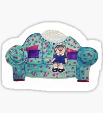 Big Comfy Couch Sticker