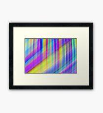 Pixel rays Framed Print