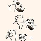 Who, Me? by Panda And Polar Bear