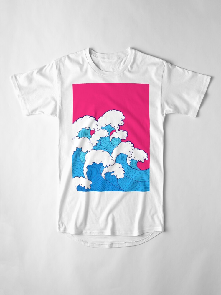 Alternate view of As the waves roll in Long T-Shirt