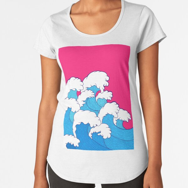 As the waves roll in Premium Scoop T-Shirt
