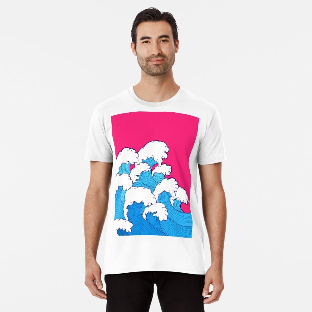 Wie die Wellen einrollen Premium T-Shirt