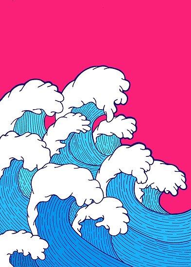 Wie die Wellen einrollen von steveswade