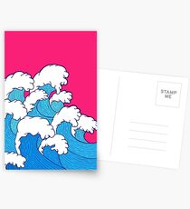 As the waves roll in Postcards