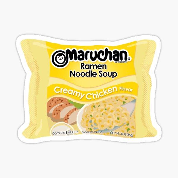 Maruchan Creamy Chicken Noodle Ramen Pegatina