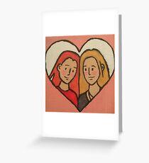 Willow x Tara Greeting Card
